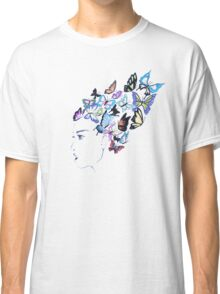Girl with butterflies in her hair Classic T-Shirt
