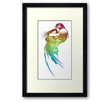 °FINAL FANTASY° Final Fantasy VIII Rainbow Logo Framed Print