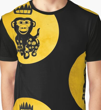 King Octochimp Says Hi Graphic T-Shirt