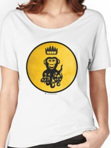 King Octochimp Says Hi Women's Relaxed Fit T-Shirt
