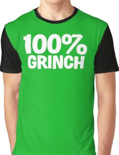 100% Grinch Graphic T-Shirt