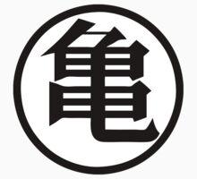 Dragonball Muten Symbol One Piece - Short Sleeve