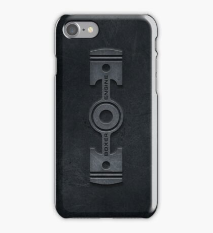 Boxer Engine case (1) iPhone Case/Skin