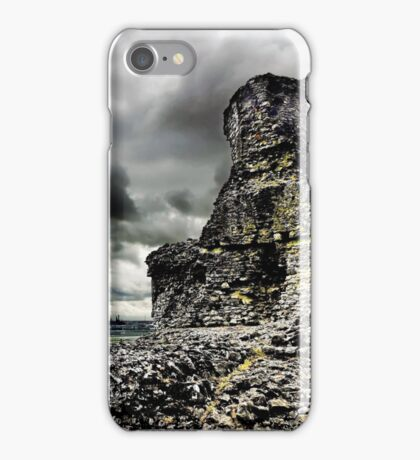 Hadleigh Castle & Thames Estuary iPhone Case/Skin