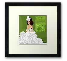 WHIPPED CREAM & OTHER DELIGHTS Framed Print