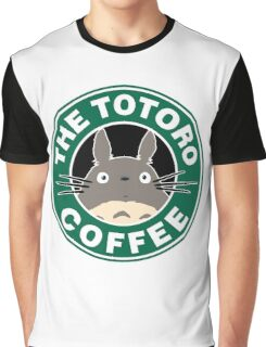 The Anime Coffee Graphic T-Shirt