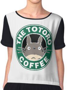 The Anime Coffee Chiffon Top