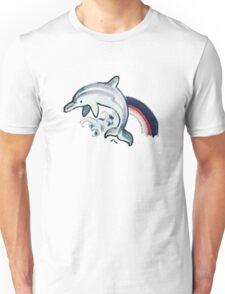 Dolphin Tattoo Unisex T-Shirt