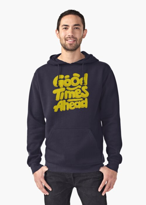 Good Times Ahead - Fun Custom Type Design by Sebastian Stadler
