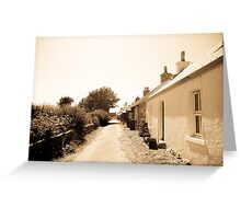 Village Street, Iona Greeting Card