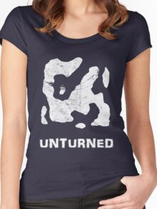Unturned Map  Women's Fitted Scoop T-Shirt