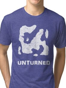 Unturned Map  Tri-blend T-Shirt