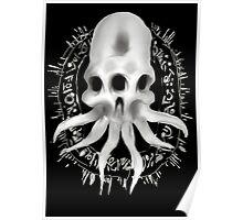 Alien Skull Poster