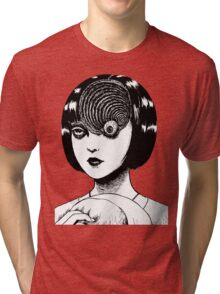 Woman With Special Eyeball Tri-blend T-Shirt
