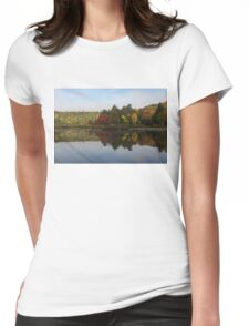 Autumn Mirror -  Womens Fitted T-Shirt