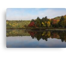 Autumn Mirror -  Canvas Print