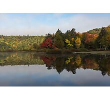 Autumn Mirror -  Photographic Print