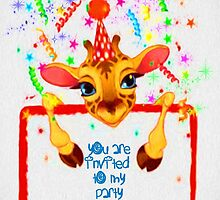 Invitation to my Party  by Catherine Hamilton-Veal  ©