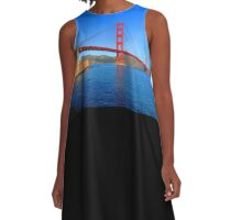 Golden Gate Bridge A-Line Dress