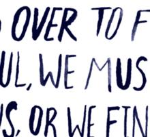 Ralph Waldo Emerson: Beautiful Sticker