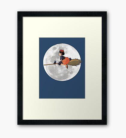 Kiki's Delivery Service (1989) Framed Print