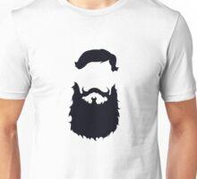 Black beard Unisex T-Shirt