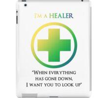 Mmorpg Class Healer iPad Case/Skin