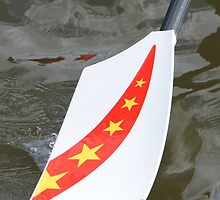 Chinese rowing oar by stuwdamdorp