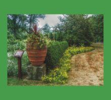 Antique Garden Urn, New Jersey Botanical Gardens T-Shirt