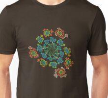 Flowers #Fractal Art Unisex T-Shirt