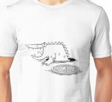 Crocodiles in NY sewers Unisex T-Shirt