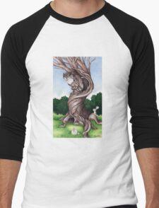 Hoo goes there? Men's Baseball ¾ T-Shirt