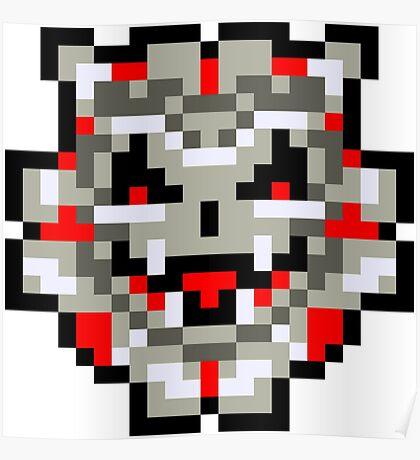 Pixel Sinistar Poster