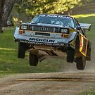 Flying Audi Quattro S1 by Stuart Daddow Photography