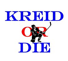Kreid or Die Photographic Print