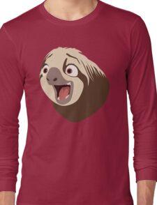 Sloth flash Long Sleeve T-Shirt