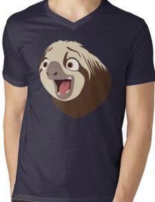 Sloth flash Mens V-Neck T-Shirt