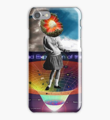 She had her own theory about the big bang iPhone Case/Skin