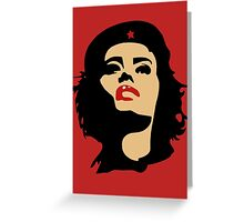 Che Guevara - Girls Edition Greeting Card