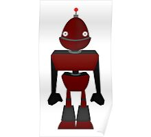 Robot Character #131 Poster