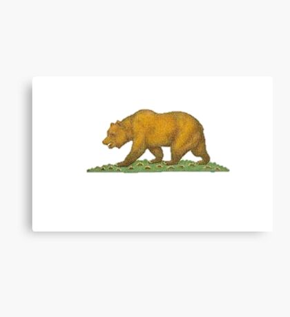 California Uber Alles Canvas Print