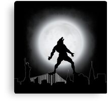 The Wolfman NYC Canvas Print