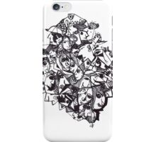 Messy Faces iPhone Case/Skin