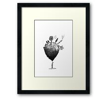 Man and Earth Framed Print