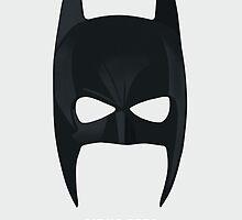 The Dark Knight - Vendetta Mask by Deividas