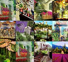 "Collage ""Le Provence"" by Robert Elfferich"