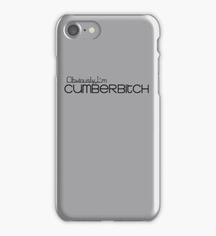 Obviously I'm Cumberbitch iPhone Case/Skin