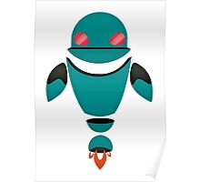 Robot Character #105 Poster