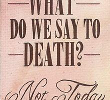 Not Today by Jade Jones