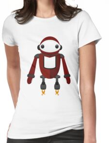 Robot Character #101 Womens Fitted T-Shirt